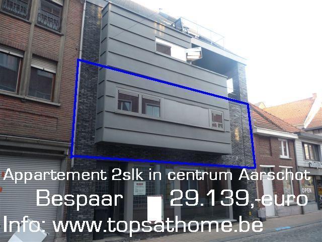 Tops home immobili n aarschot appartement modern for Appartement te huur aarschot
